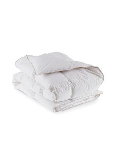 Penelope Dove 10,5 TOG Kaz Tüyü Yorgan Tek Kişilik 155x215,Beyaz Beyaz